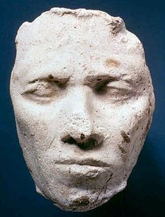 Mask of man from workshop of Thutmose. Amarna Period: (Society for the Promotion of the Egyptian Museum Berlin)