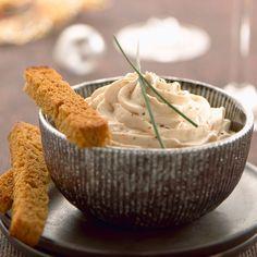 Découvrez la recette de la chantilly au foie gras