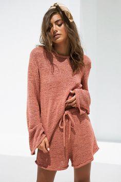 bottoms aubrey knit shorts 1