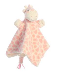 Aurora Baby GiGi Blankee - These wonderful cushy toys are made to ensure your baby is comforted and safe.