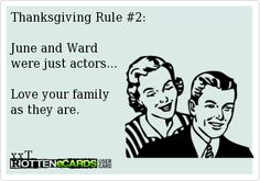 Thanksgiving Rule #2: | Cookin' Up A Party