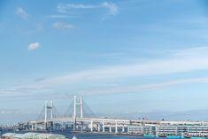 写真 ベイブリッジ 202001 穏やかな港の風景 My Works, Paris Skyline, Bridge, Aesthetics, City, Travel, Viajes, Traveling, City Drawing