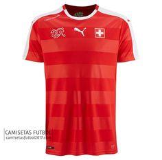 Primera camiseta de Suiza Euro 2016 €19,9