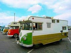 Motorhome vw bus