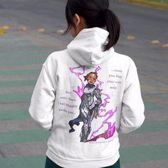 C.D.U.L.O: Guiding Light ( Ens. Randy ) Hoodie Super Hero Shirts, Character Profile, Hoodies For Sale, Movie T Shirts, Daily Wear, Sweater Hoodie, Sleeve Styles, Graphic Sweatshirt, Sweatshirts