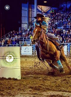 Choose what champion barrel racers choose! Equine Omega Complete. Superb joint support, better hooves, faster recovery, significant reduction in colic, hair coats that glow, natural calming effects and much more. Visit the site to enter to win a free month's supply. Read the hundreds of testimonials. www.o3animalhealth.com