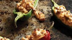 Need an easy appetizer recipe? Just stuff jalapeño peppers with Jimmy Dean® Pork Sausage and cheeses for a zesty appetizer that bursts with flavor! Sausage Stuffed Jalapenos, Stuffed Jalapeno Peppers, Jalapeno Poppers, Side Dish Recipes, Heb Recipes, Cooking Recipes, Pork Nachos, Cheese Ingredients, Garlic Parmesan Fries