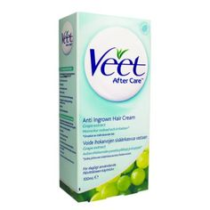 Veet Ingrown Hair Cream, Care after depilation/ prevents the ingrowth of hair, 100ml: Amazon.co.uk: Beauty