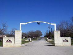 Mission Trail RV Park At San Antonio Texas
