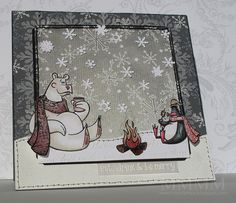 Purple Onion Designs eat drink & be merry (mel stampz)- by melstampz, via Flickr