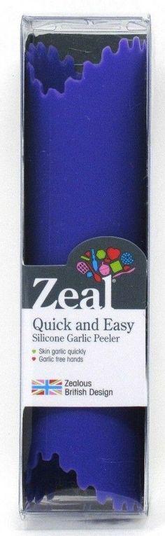 Lot Of 3 Zak The Original E Z Rol Garlic Peeler Roll Tube Kitchen BPA Free Red