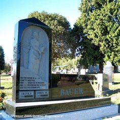 Granite Monubenches   Quiring Monuments - Monuments.com