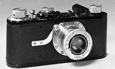 The Leica 1, 1925, the world's first 35mm camera. Photograph: Science & Society Picture Librar/Getty Images