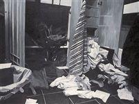 Scene of the crime closet by Nona Garcia