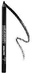 MAKE UP FOR EVER Aqua Eyes Waterproof Eyeliner Pencil in Star Black 1L (slightly shimmery true black)   for upper and lower waterline.