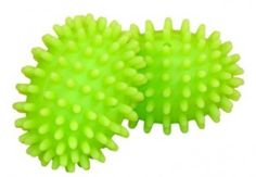 norwex dryer balls- no dryer sheets needed! Lifts and separates clothes in dryer making for less static and decreases drying time.