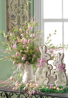 An easy and elegant arrangement for Easter