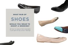 Five Shoes for Wedding Photographers and Planners to Wear | Tech-Talk Tuesday