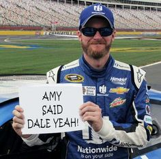 Dale Jr.'s engagement!!