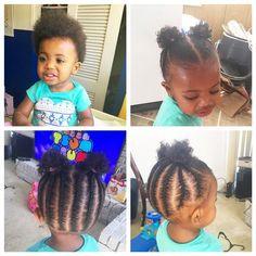 Platinum Blonde Hair Tips Black Baby Girl Hairstyles, Toddler Braided Hairstyles, Toddler Braids, Natural Hairstyles For Kids, Braids For Kids, Natural Hair Styles, Kid Hairstyles, Trending Hairstyles, Short Hairstyle