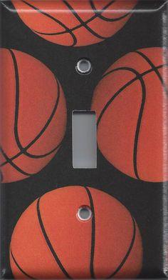 45 New Ideas for basket ball bedroom wall sport theme Man Cave Lighting, Kids Room Lighting, Room Lights, Lighting Ideas, Basketball Room Decor, Basketball Decorations, Basketball Stuff, Basketball Crafts, Basketball Cupcakes