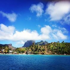 Bora Bora - A long sail across the Pacific but an ultimate goal for long term cruisers. Charter are available here with sunsail.com and morings.com
