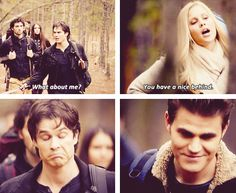 """You have a nice behind!"" :D So right!!! :D TVD"