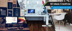 50 Ideas Creativas para Tu Oficina en Casa - Creadictos