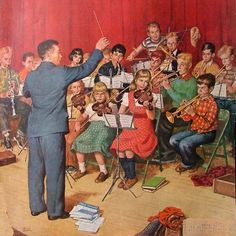 School Orchestra, Amos Sewell