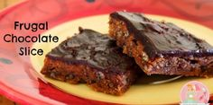Frugal Chocolate Slice | Stay at Home Mumhttp://www.stayathomemum.com.au/recipes/biscuits-slices/frugal-chocolate-slice/