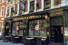 【パブ】シャーロック・ホームズ The Sherlock Holmes – london.xyz