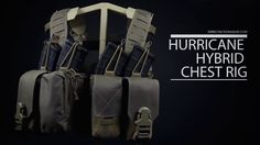 Direct Action открыла приём заказов на платформенный нагрудник Hurricane Hybrid Chest Rig