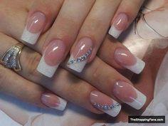 french acrylic nail design