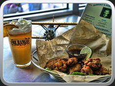 Aviator wings Happy Hour, Hamburger, Aviation, Wings, Happiness, Beef, Food, Meat, Bonheur
