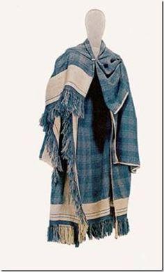 Figure 38- Thorsberg cloak reproduction presently housed at the National Museum of Denmark. (Kelticos, Thorsberg Cloak)