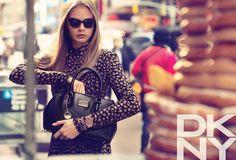 DKNY. Fall-Winter 2013. Model: Cara Delevingne