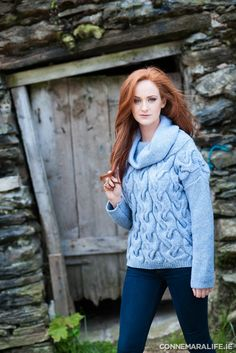"Fisherman Out of Ireland cable-knit sweater from Hehirs €149.99 | Connemara Life 2015 | ""Seasons of Ireland on the Wild Atlantic Way"" 