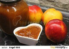Kořeněná povidla z nektarinek recept - TopRecepty.cz Plum, Salsa, Peach, Pudding, Fruit, Desserts, Food, Tailgate Desserts, Deserts