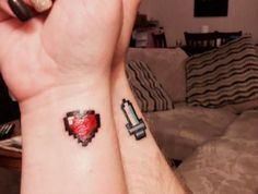 15 Couples Tattoos That Are WAY Cuter Than Any Engagement Ring
