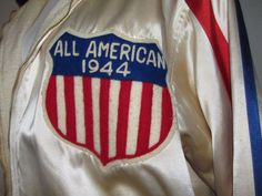 Extremely rare 1944 All-American redhead women's BASKETBALL jacket  $1000 ++
