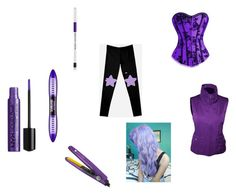 """""""amethyst"""" by monsteremma on Polyvore featuring art"""