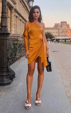 Outstanding Party Looks With Short Dress Elegant Outfit, Classy Dress, Classy Outfits, Elegant Dresses, Casual Dresses, Short Dresses, Fashion Dresses, Mode Style, Aesthetic Clothes