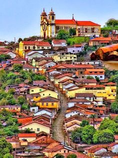 Ouro Preto, Minas Gerais, Brazil the perfect historical city to visit.