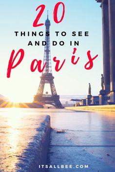 Paris Travel Guide | Top 20 Things To Do In Paris #Paristravel