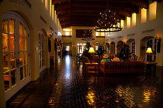 New Mexico Art - The Hotel Albuquerque Lobby  by David Patterson