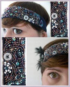 30's style Headband :)