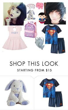 """-wandering around gotham, centeral and star city alone together- _Abigail Allen & Jonathan Kent_ ootn_"" by xxxnightwingan0nsxxx ❤ liked on Polyvore featuring Mother, Intimo and Pillow Pets"