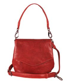 Loving this Red Petra Leather Crossbody Bag on  zulily!  zulilyfinds  Everyday Bag 8f15578199953