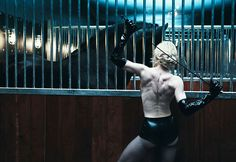 """Madonna Rides Again, Photographed by Steven Klein, 2006. Madonna """"unafraid, leather-clad and in the best shape of her life,"""" at age 47."""