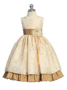 Пошив детского нарядного платья
